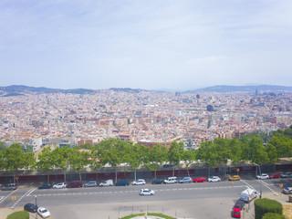 バルセロナの街風景