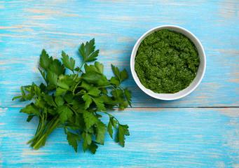 parsley pesto