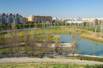 Cabecera Park in Valencia, Spain