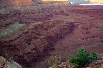 Awe-inspiring vista from Dead Horse State Park, Moab Utah