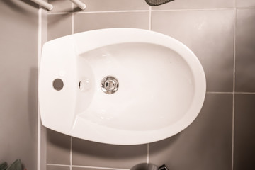 toilet bowl top view