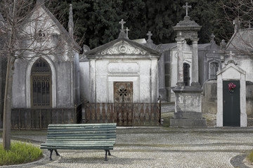 Old european cemetery