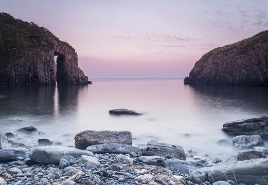 Church Doors Cove, Skrinkle Bay, Pembroke, Wales
