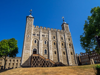 The White Tower - Main castle within the Tower of London