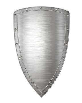 Long Silver Shield
