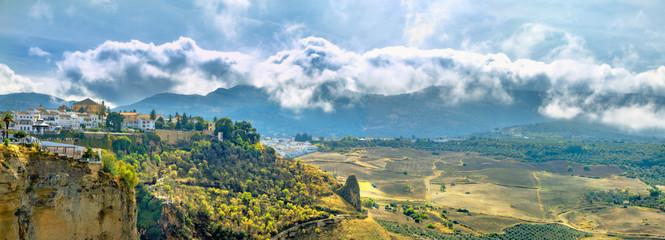 Ronda. Tajo Gorge, Andalusia, Spain
