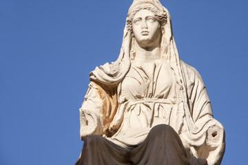 Estatua romana de la diosa Ceres