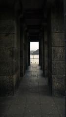 deutsches eck inside the monument