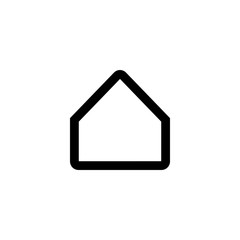 Home vector icon isolated on background. Trendy sweet symbol. Pixel perfect. illustration EPS 10.