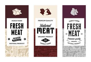 Vector butchery logo