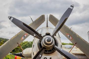 Collection d'avions anciens du Château de Savigny Lès Beaume