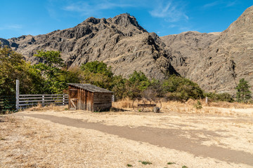 Old Shed in Hells Canyon