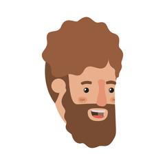 head of man avatar character
