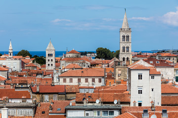 Zadar, the oldest continuously inhabited Croatian city, the second largest city of the region of Dalmatia and a UNESCO's World Heritage Site.