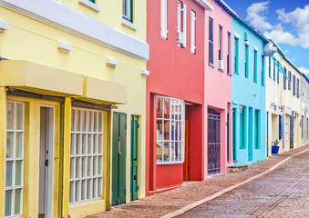 Colorful Shops in Bermuda
