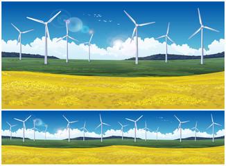 Field and wind generators