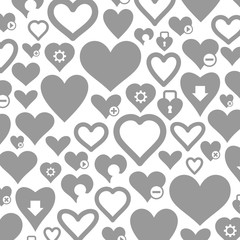 Heart a background3