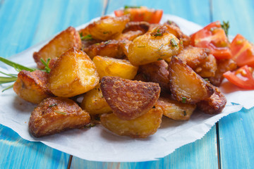 Home made roasted potato