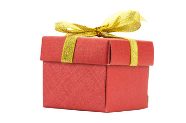 Gift Box on White background,Clipping path
