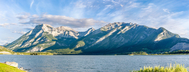 Wall Mural - Mountains near lake Lac de Arcs in Canadian Rockies
