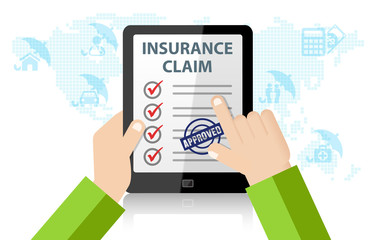 Online Insurance Claim Service. Life, injury, medical, home, car Insurance