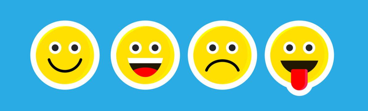 emoji or smile logo icon