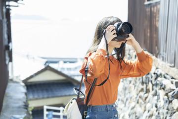 カメラ女子旅