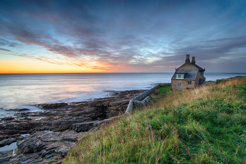 Wall Mural - Dawn at Howick in Northumberland