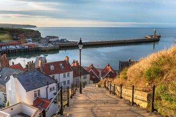 Fototapete - Whitby in Yorkshire
