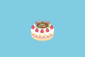 誕生日 ケーキ フレーム