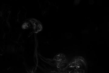 Smoke black background