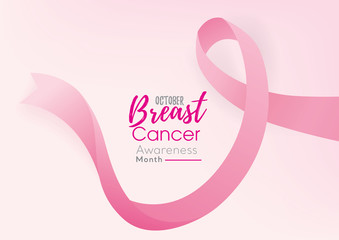 Breast cancer awareness campaign background