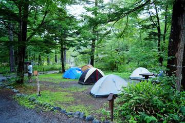 キャンプ場 イメージ