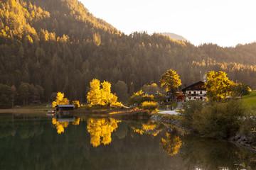 Hintersteiner See am Wilden Kaiser, Österreich