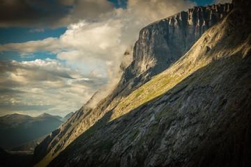 Wall Mural - Cloudy Norwegian Nature