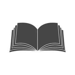 Obraz Vector sign open book icon  - fototapety do salonu