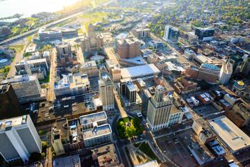Foto op Plexiglas Buffel Downtown Buffalo NY