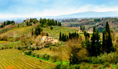 Countryside of Tuscany