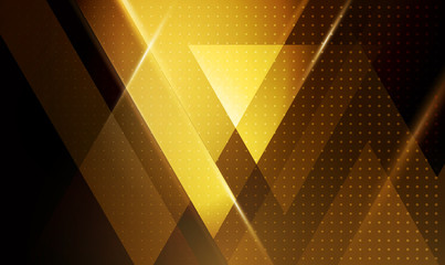Vector abstract geometric background with triangle shapes