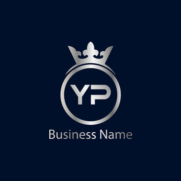 Initial Letter YP Logo Template Design