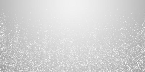 Amazing falling stars Christmas background. Subtle