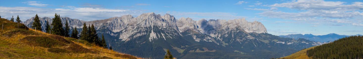 Wilder Kaiser, Panorama