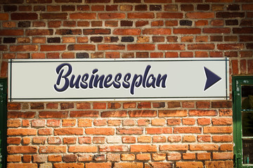 Schild 318 - Businessplan