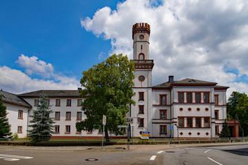 Schloss Rennhof, Hüttenfeld, Lampertheim, Hessen, Deutschland