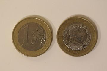 Bilder Und Videos Suchen 1 Euro Münze