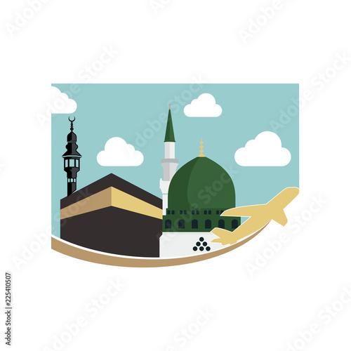 Masjid Al Haram Kaaba Mecca Image Vector Stock Image And Royalty