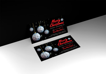 Christmas Event Flyer Layout