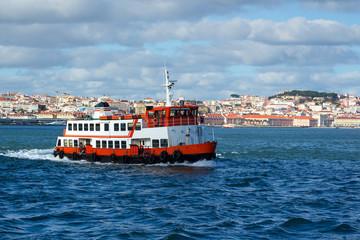 Bateau Baie du Tage Lisbonne