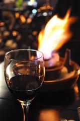 Foto op Plexiglas Alcohol Vinhos e Fondue