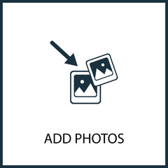 add photos icon for web and mobile
